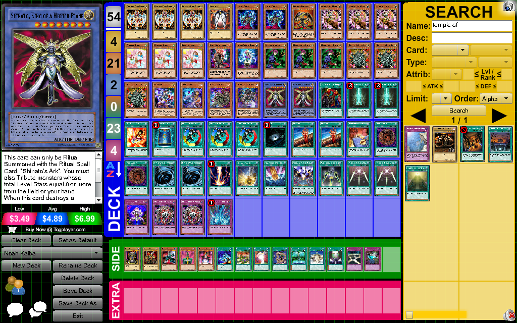 yugioh how to create a good deck