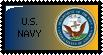 U.S. Navy Stamp by GMart5