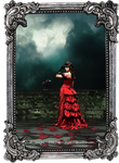 The Woman in Red by Ariyah-Ri