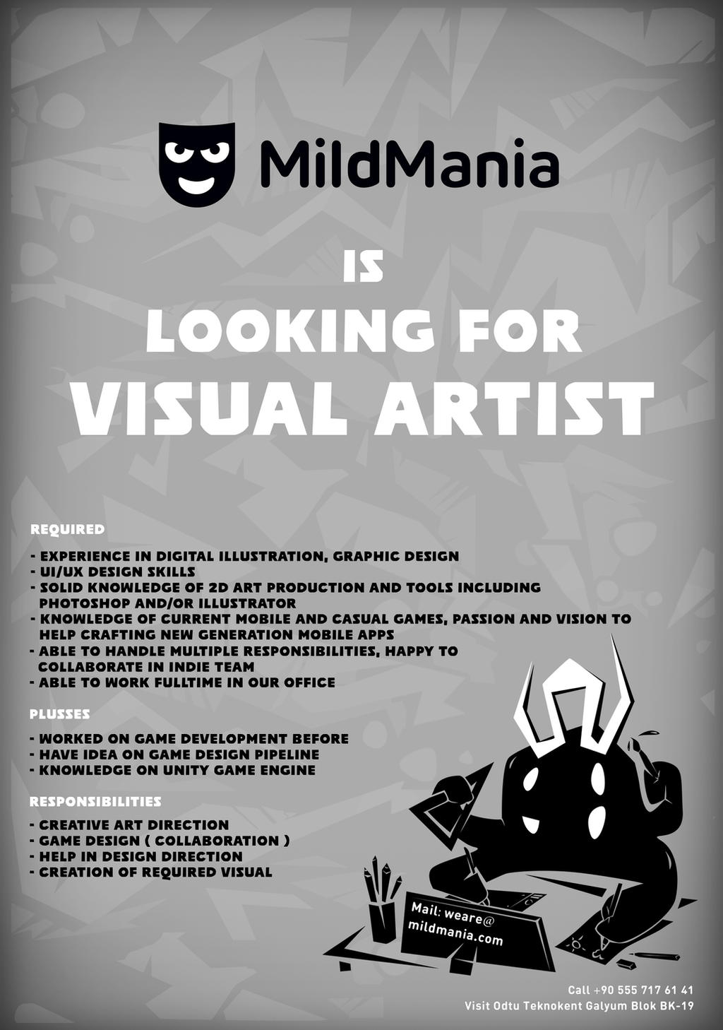 Designer-Wanted by MERTGURKAN