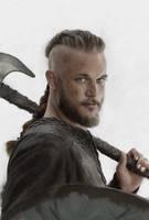 Vikings - Ragnar Lodbrok by CoffeeAndMarkers