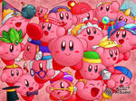 The many abilities of Kirby