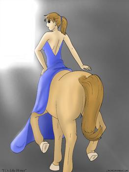 I Do Like Horses - Colored