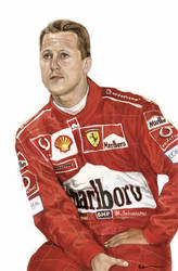 Michael Schumacher by RAblewhite