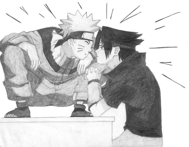 naruto vs sasuke by scorpiona on deviantart
