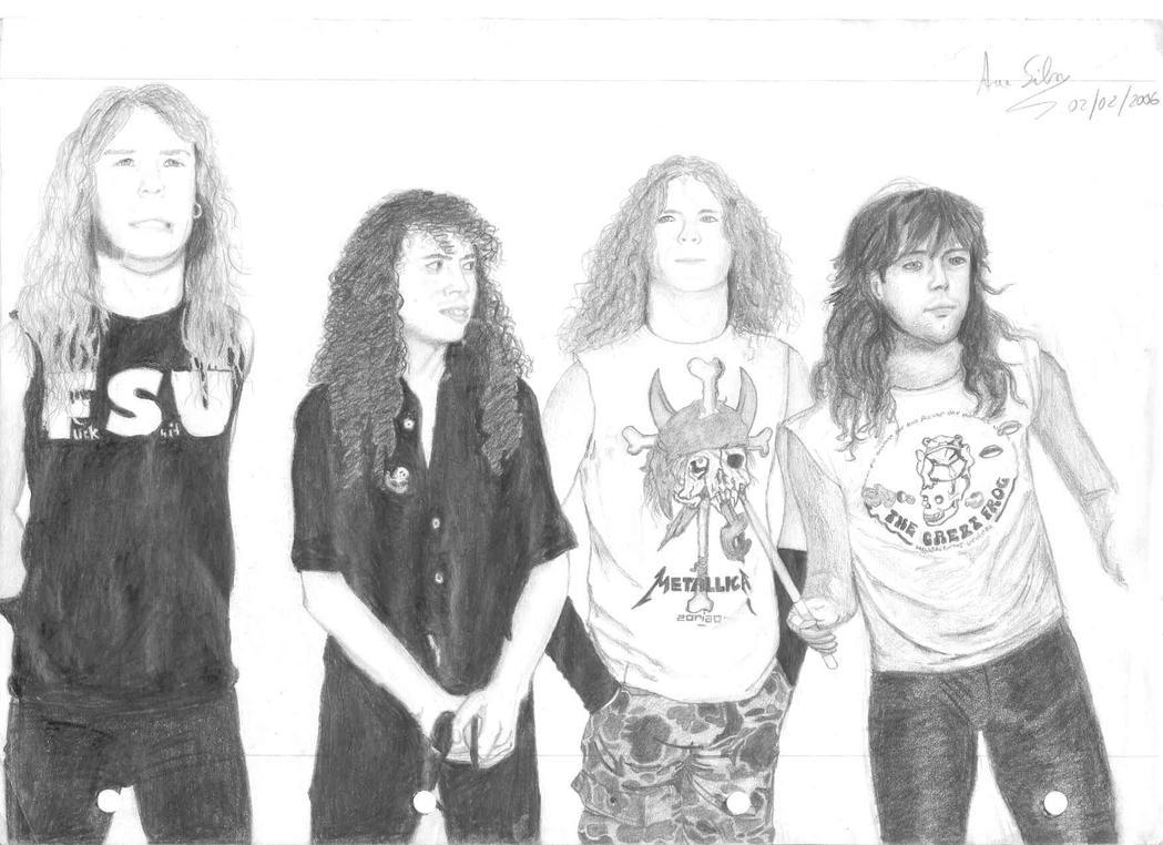 Metallica'87 by Scorpiona