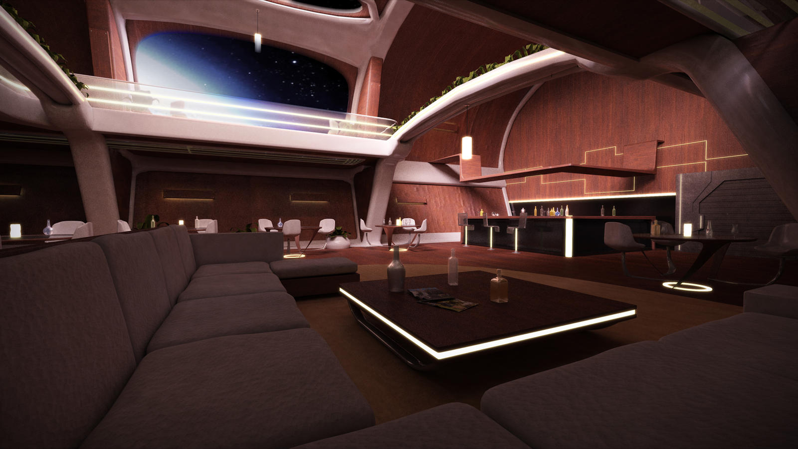 3d workshop luxurious spaceship interior by stormxf3 on for Images of interior