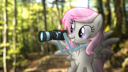 Sweet Shutter And Her Camera (2019) by StormXF3