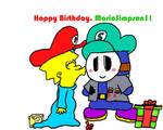 Happy Birthday, MarioSimpson1 by NormalPhantasm