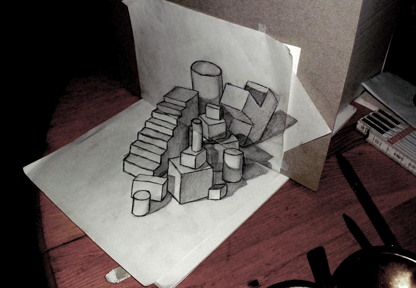 3D-Shapes by FireflyAlpha on DeviantArt