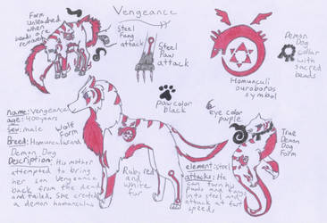 Vengeance Homunculus Dog OC by xSaikoMaikox