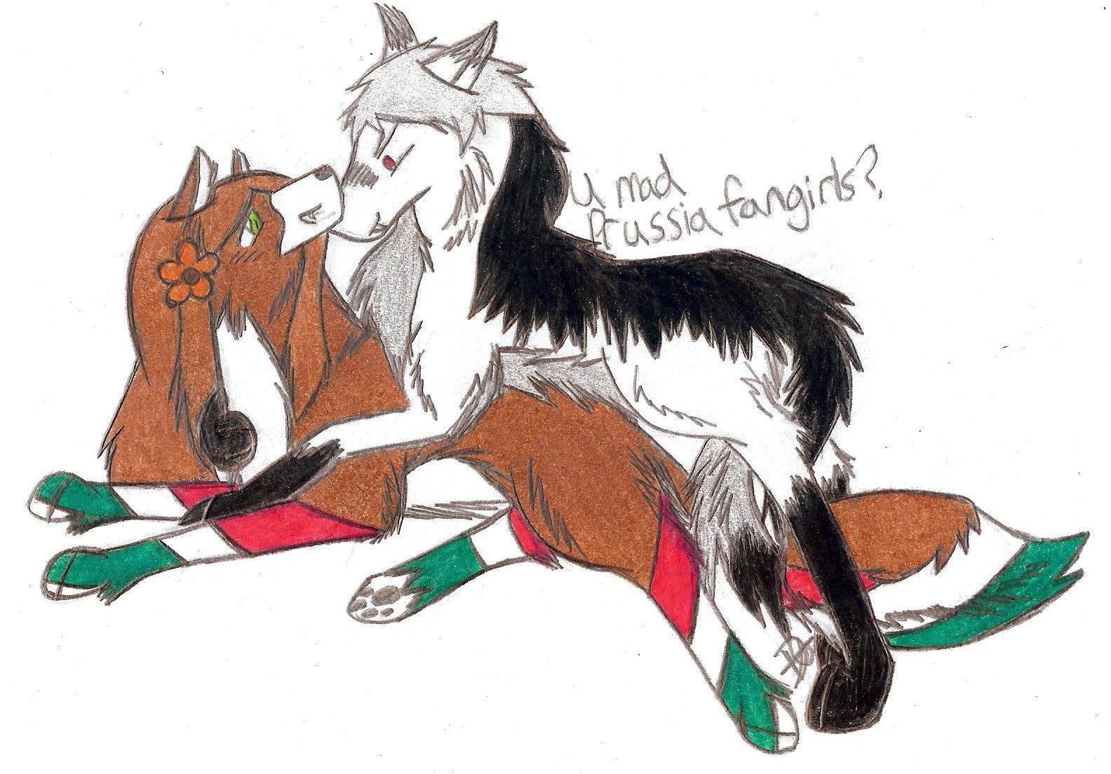 PruHun Wolves by xSaik...