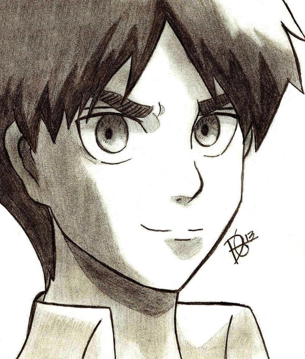 Eren jaeger drawing - photo#24