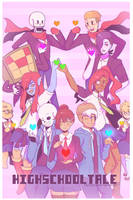 Highschooltale cover by TallestDwarfGremlin