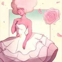 Pink Rose by TallestDwarfGremlin