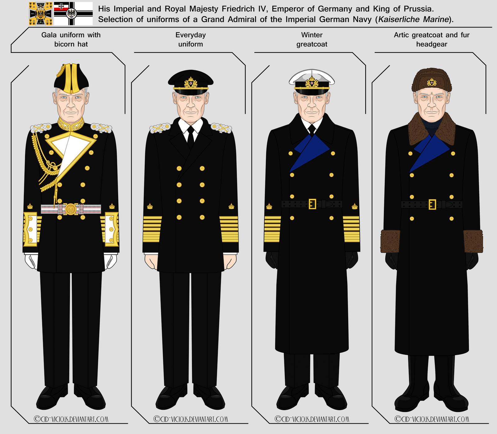 Kaiserliche Marine - Grand Admiral by Cid-Vicious on ...