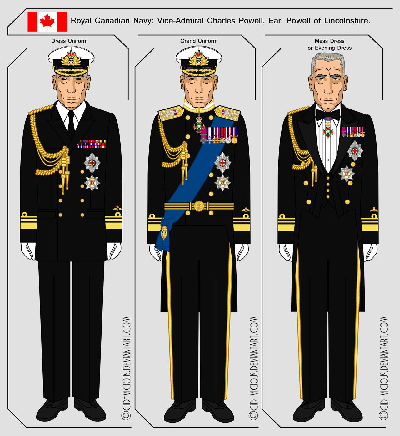 Royal Canadian Navy Dress Uniforms by Cid-Vicious on DeviantArt