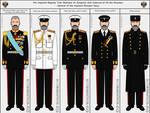 Tsar Nicholas III - Navy uniforms