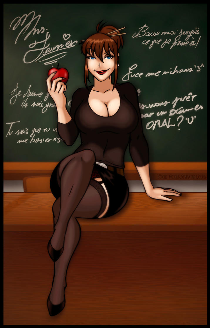 Adela, the French Tutor by Cid-Vicious