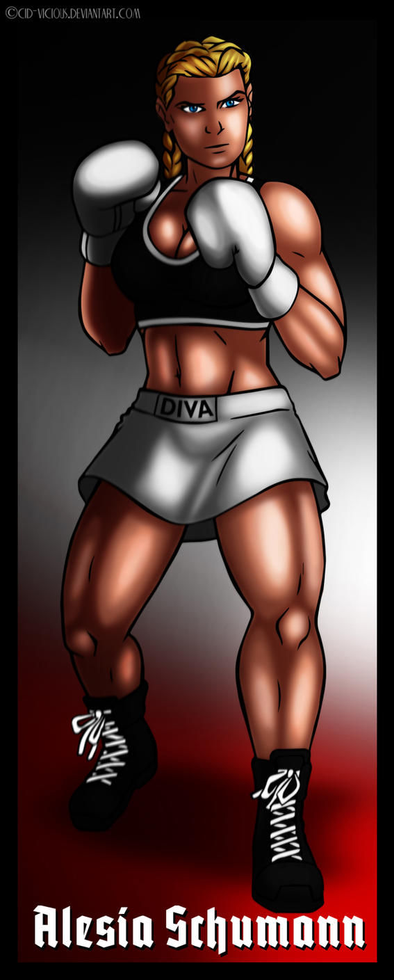 Art Trade - Alesia Schumann by Cid-Vicious