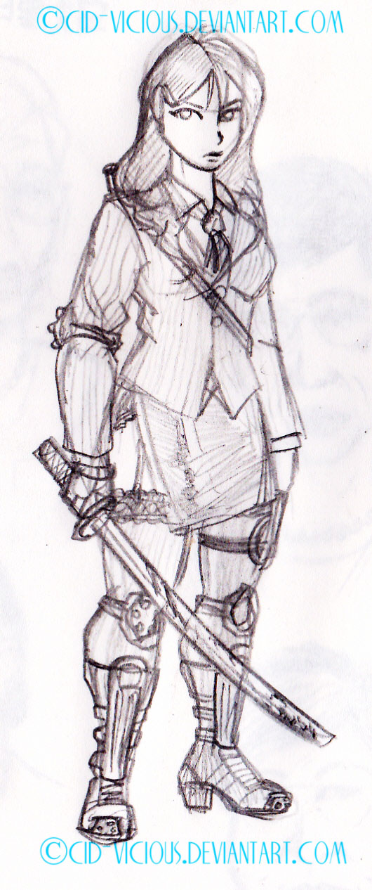 Sketch - Gil of the Dead by Cid-Vicious