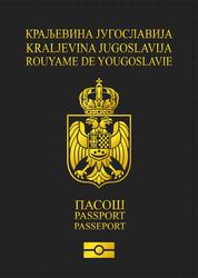 AU - Kingdom of Yugoslavia passport