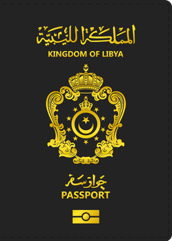AU - Kingdom of Libya passport