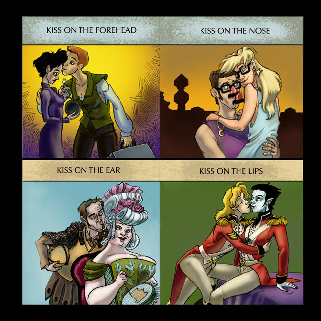 Discworld Kiss Meme