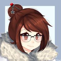Mei - Overwatch (fanart) by Mimyoi