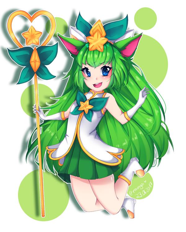 Star Guardian Lulu (Fanart) by Mimyoi
