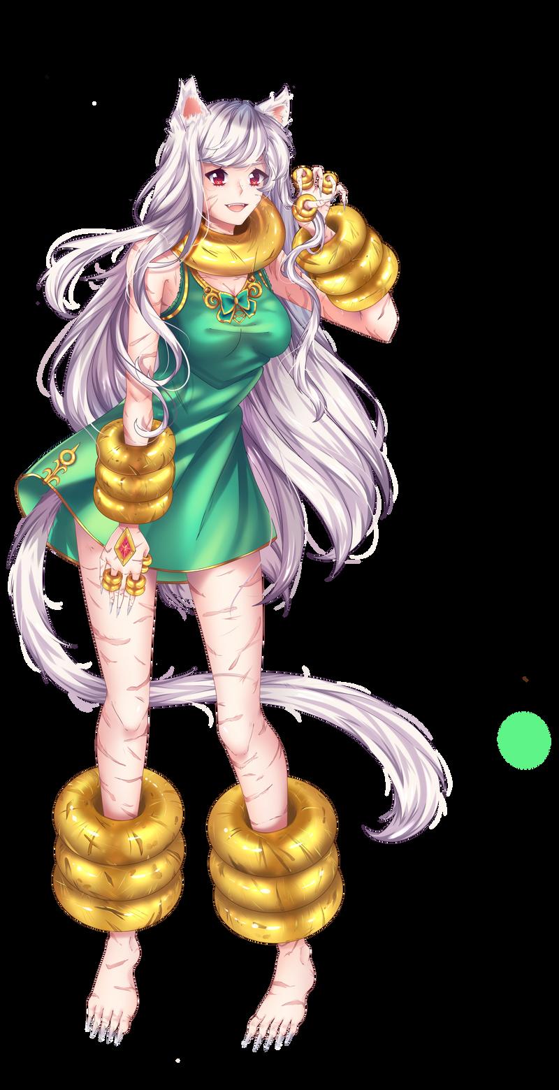 Feline [Commission] by Mimyoi