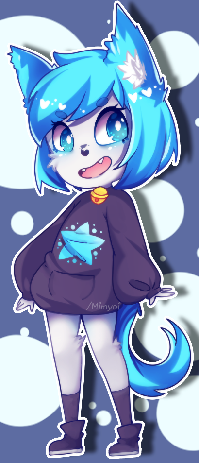 Bluefoxmuffin? by Mimyoi