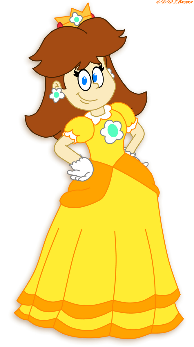 Collab - LTS Styled Daisy by LuigiStar445