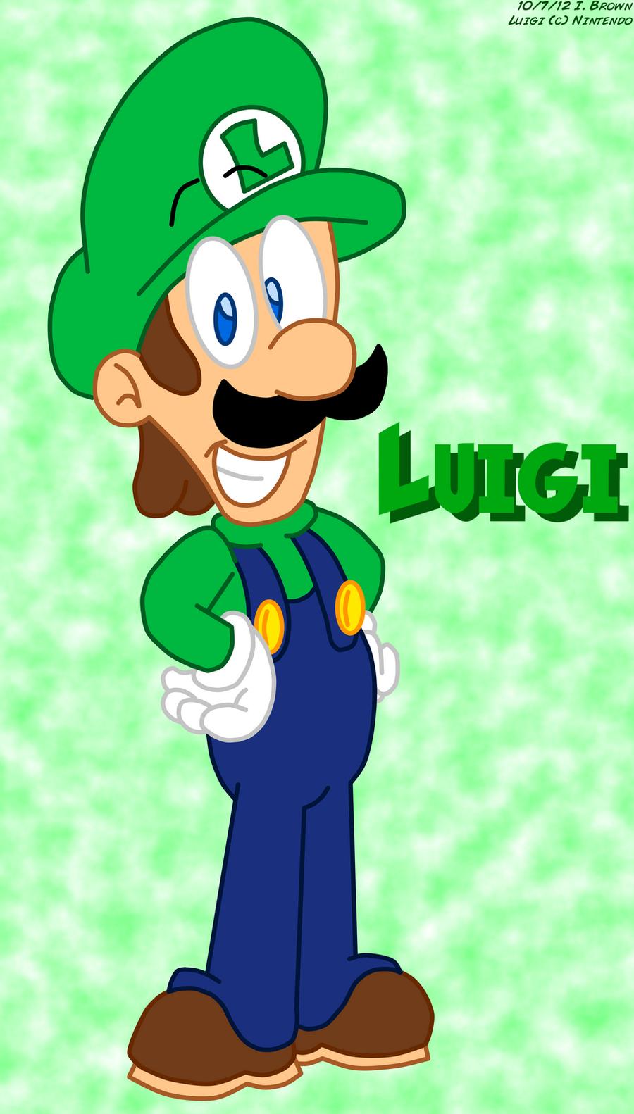 Luigi '12 by LuigiStar445