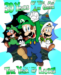 The Year of the Man in Green by LuigiStar445