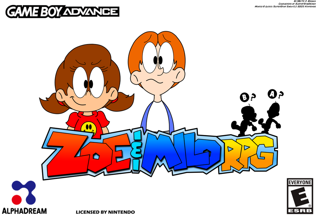 Zoe & Milo RPG by LuigiStar445