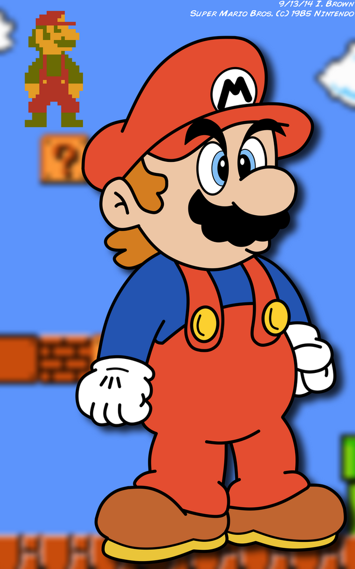 Mario Revamped by LuigiStar445