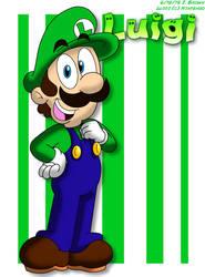 SM - Simply Luigi by LuigiStar445