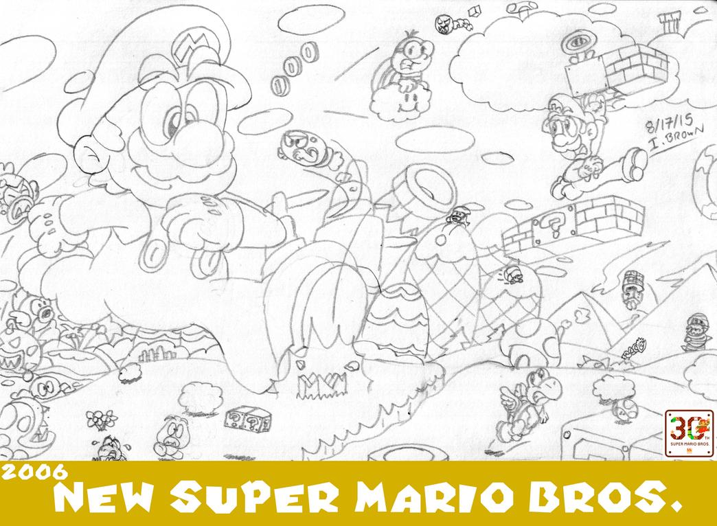 MOSM - New Super Mario Bros. by LuigiStar445