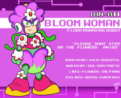 DIN-011 - Bloom Woman
