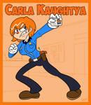 OC - Inspector Carla Kaughtya
