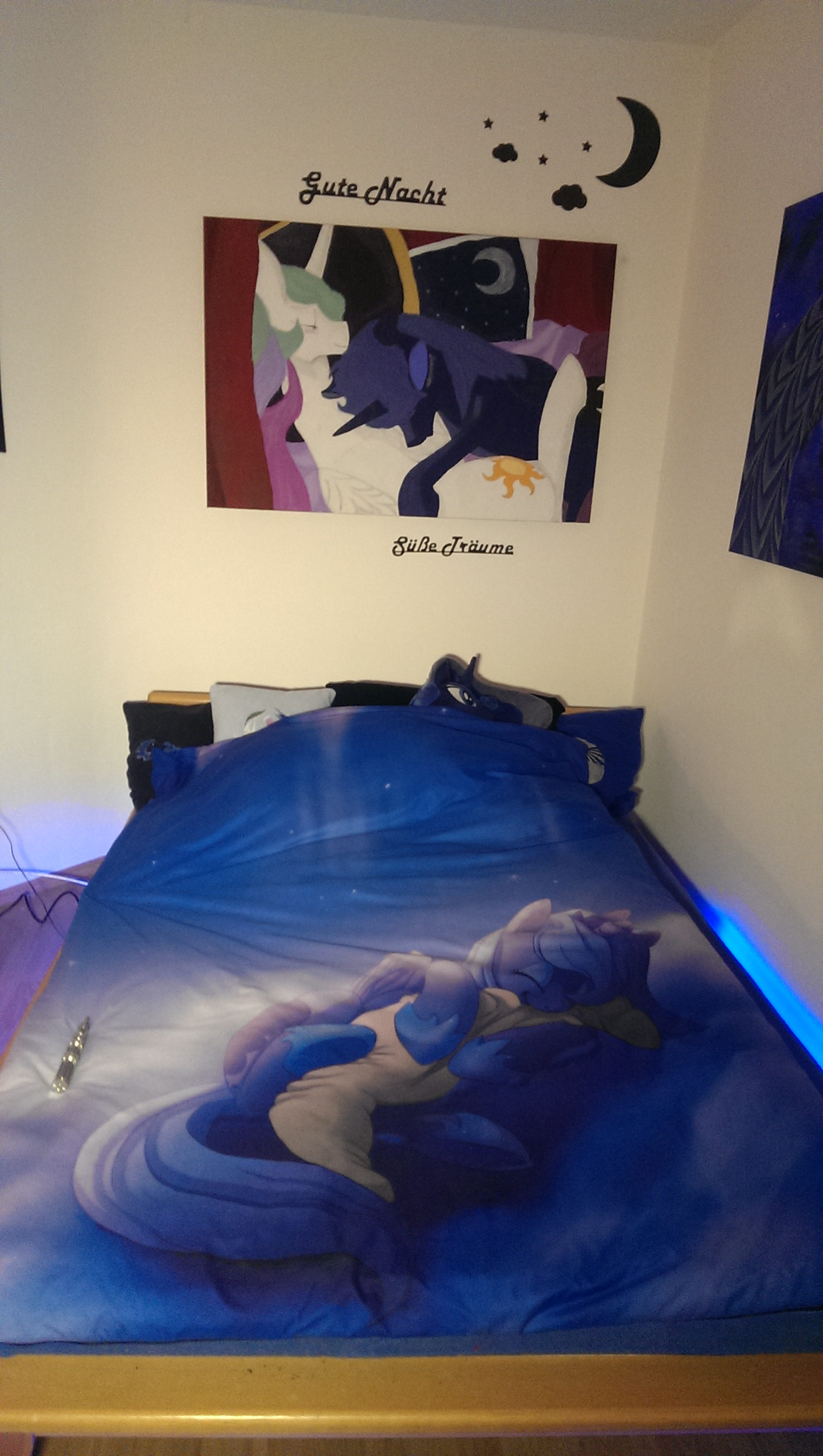 princess luna blanket by commander pliskin on deviantart