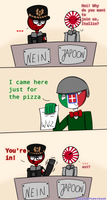 Before WW2 (Countryhumans) by AxilThePowerbank