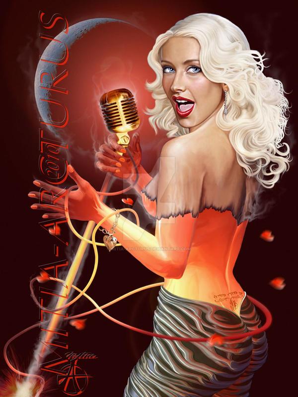 Christina Aguilera  Fire Girl by Mitia-Arcturus