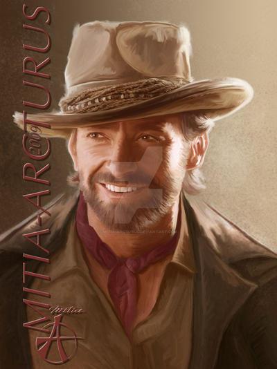Hugh's Smile by Mitia-Arcturus