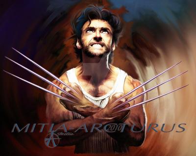 Wolverine's Anger by Mitia-Arcturus