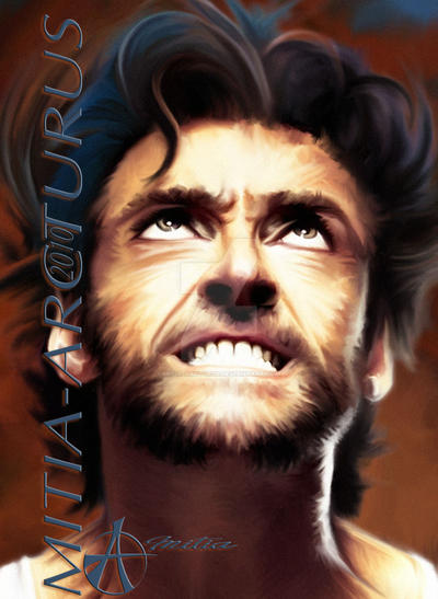 Wolverine's Anger close up by Mitia-Arcturus
