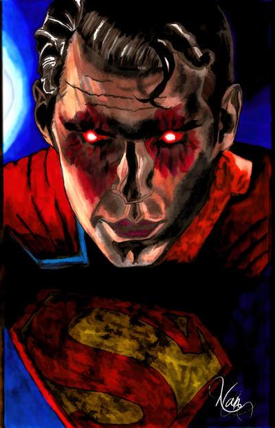 Batman vs Superman by NotANumber38