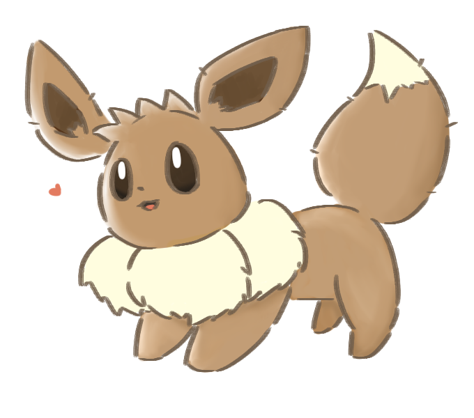 ~heart~ [another eevee!] by Lineon-RL