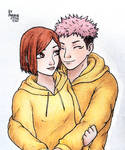 Yuji and Nobara - Jujutsu Kaisen